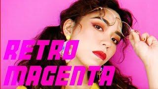 復古桃紅夏日妝容   RETRO MAGENTA SUMMER MAKEUP   Want! magazine