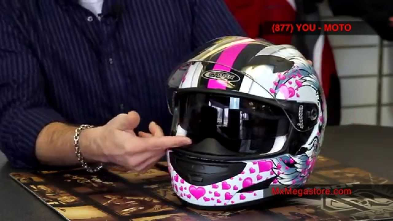 f17ce31c 2014 Cyber US-97 Motorcycle Helmet Review at MxMegastore.com - YouTube