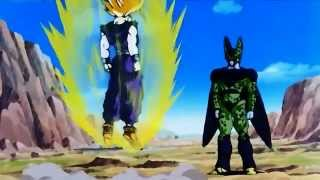 Video SSJ2 Gohan vs Cell Jrs  720p HD   YouTube download MP3, 3GP, MP4, WEBM, AVI, FLV Maret 2018