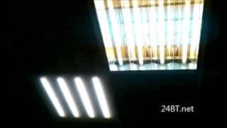 Светодиодный светильник для подвесных потолков Армстронг Коэффициент пульсации 0% отсутствие стробос(, 2014-11-23T15:26:23.000Z)