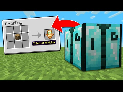 Minecraft, But There's Custom Crafting Tables…