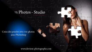 Photoshop - Créer Un Effet De Puzzle Sur Vos Photos