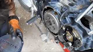 Honda nighthawk 650 disassembly