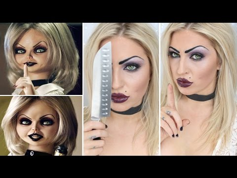 Halloween tutorial bride of chucky doll tiffany youtube halloween tutorial bride of chucky doll tiffany solutioingenieria Choice Image