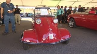 $42,000 for a three-wheeled bubble car