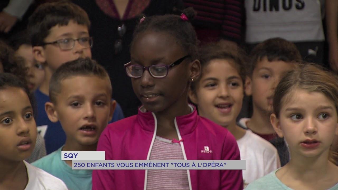 """Saint-Quentin-en-Yvelines : 250 enfants vous emmènent """"Tous à l'opéra"""""""