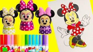 Video Disney Minnie Mouse Coloring Page with Lip Balms Shopkins Season 6 download MP3, 3GP, MP4, WEBM, AVI, FLV Juli 2018