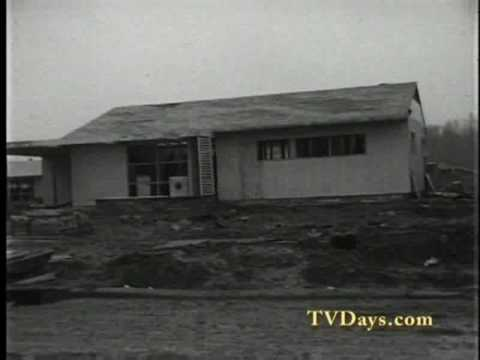 A CITY IS BORN LEVITTOWN, PA 1953 BUILDING OF A HOUSE IN 40 seconds