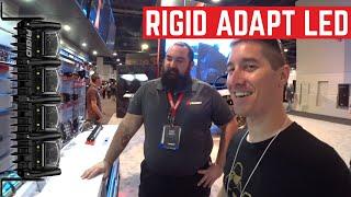 RIGID Adapt And Adapt E Series LED Light Bars At SEMA