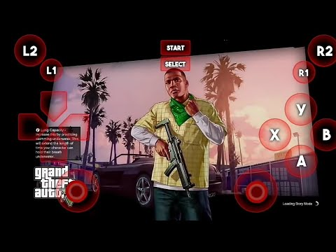 How To Download GTA 5 On ANDROID | PS3 Emulator - APK+OBB 1.7GB | Game Zone