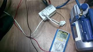 Измеряем пусковой ток компрессора бирюса 133