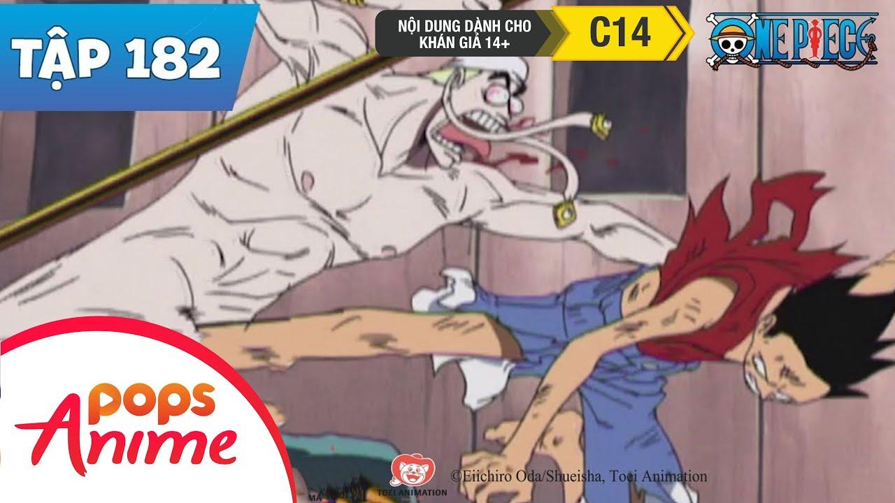 One Piece Tập 182 - Cuộc Chiến Cuối Cùng - Hải Tặc Luffy Và Đấng Tối Cao Enel - Phim Hoạt Hình