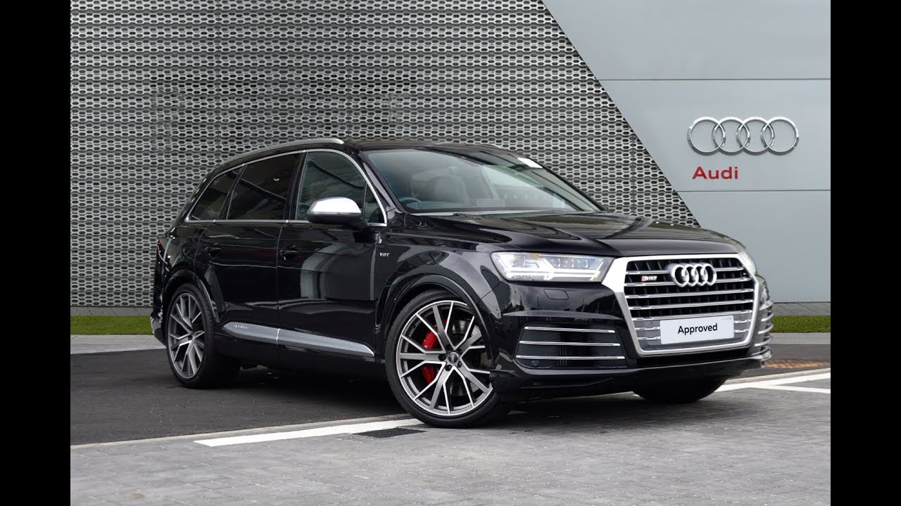 Audi Q7 Sq7 Tdi Quattro Black 2017 Youtube