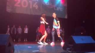digitour o2l dance off with fans