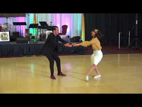 ILHC 2018 - All Star Draw Lindy Hop Finals - Felipe Braga & Bianca Locatelli