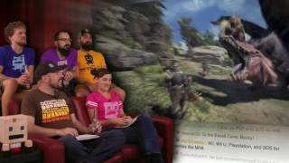 Monster Hunter World! | E3 2017 AWESOME!