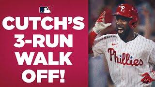 CLUTCH CUTCH!! Andrew McCutchen LAUNCHES 3-run WALK-OFF shot for Phillies!