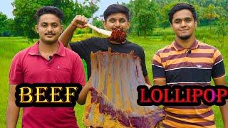 BEEF LOLLIPOP | Beef Ribs Recipe | Lollipop With Beef Ribs | Beef drumstick | Food4 People