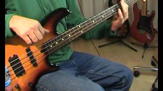 ABBA - Lay All Your Love On Me - Bass Cover