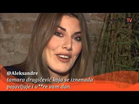 Tamara Dragičević čita tvitove o sebi   Mondo TV