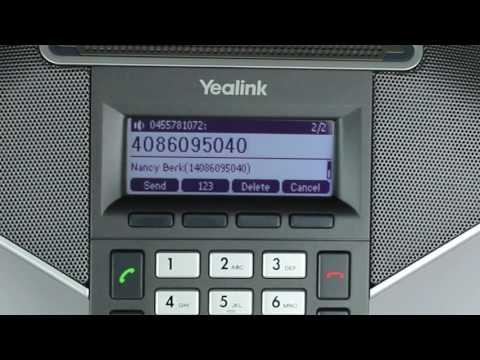 Yealink CP860: Three Way Conference Call