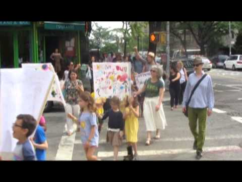 East Village Community School Social Justice March