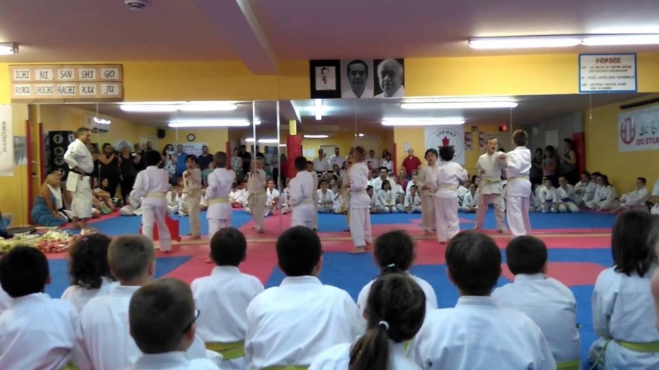 046ca78dc93b Kata Karaté ceinture barre-jaune shitoryu karate yellow stripe belt kata