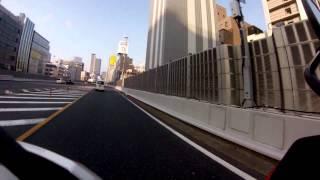 阪神高速13号東大阪線~東船場JCT~環状線~西船場JCT~中之島分岐~北浜出口