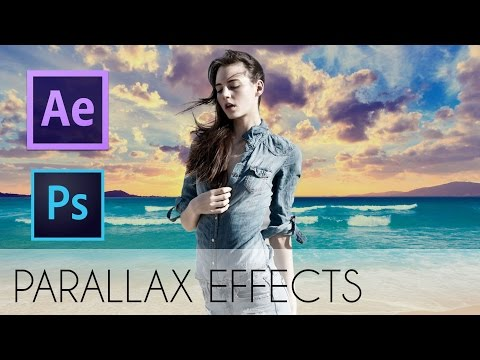 Photoshop + After Effect Tutorial: How To Make Parallax Photo