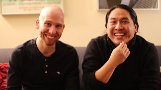 Interviewing Actors after Filming in Esperanto