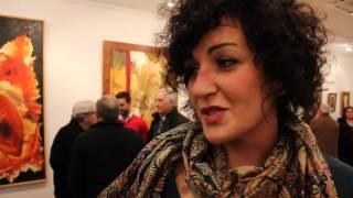 Exposición de pinturas de los artistas locales