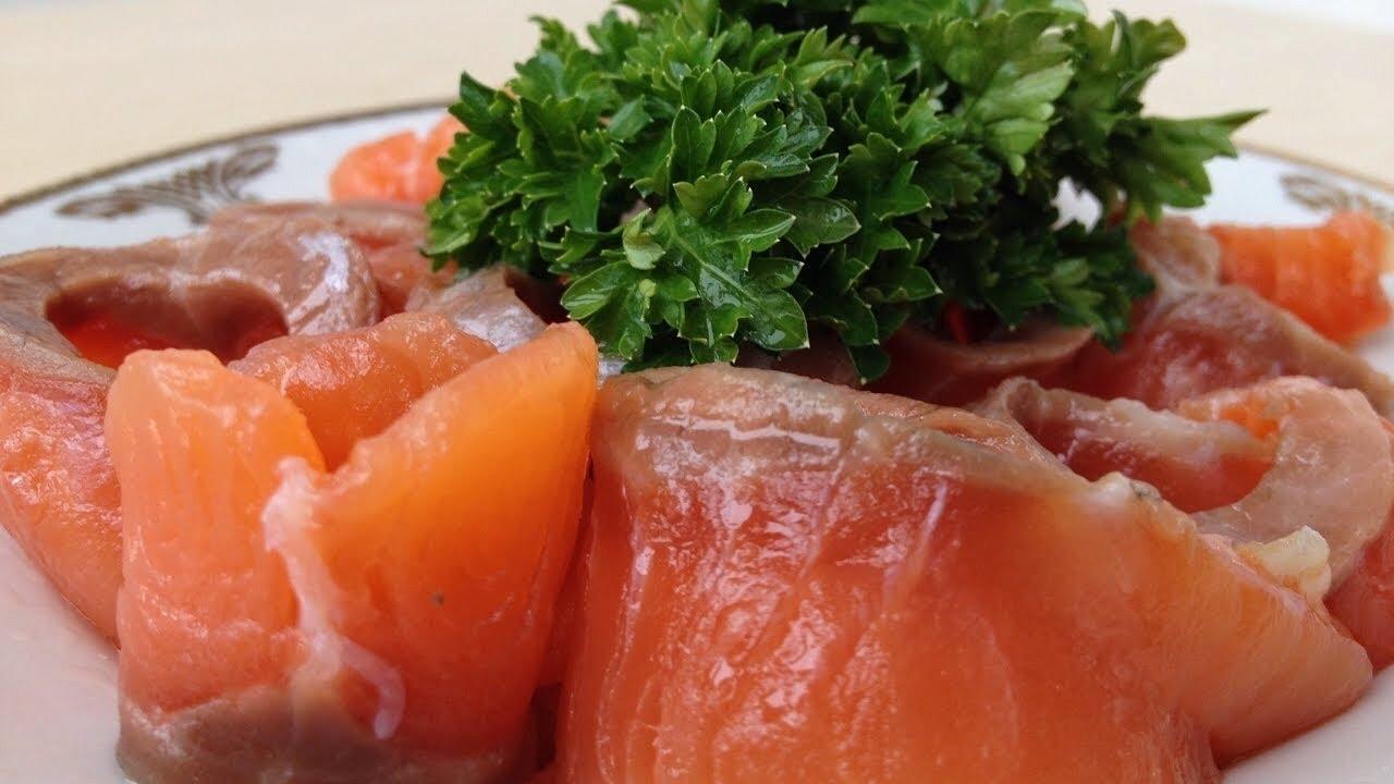 как засолить красную рыбу в домашних условиях быстро