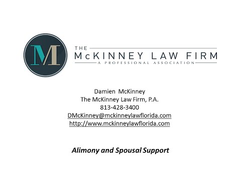 Alimony and Spousal Support | Divorce Attorney Tampa | Tampa FL Family Lawyer