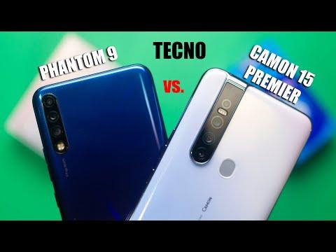 TECNO Camon 15 Premier vs Phantom 9: Camera, Speed Test & Comparison