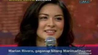 Showbiz Central: Marian Rivera's Audition Tapes
