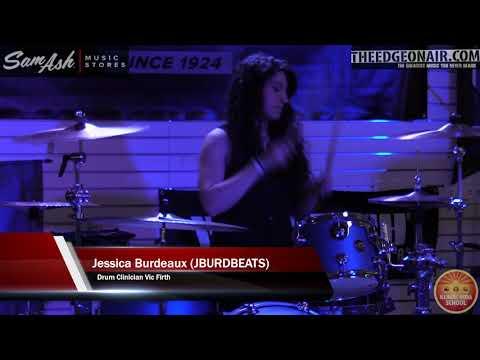 Sam Ash Music Store Presents Women of The Music Industry Jessica Burdeaux aka jburdsbeats