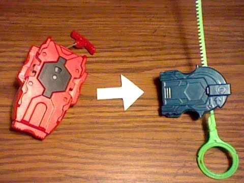Beyblade Burst: How to turn a Beyblade burst beylauncher into a ripcord/light launcher