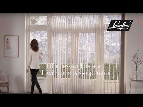 Vertical Blinds with Wand operation from Luxaflex®
