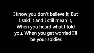 Soldier - Gavin Degraw (Lyrics)