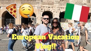 TRAVEL VLOG #1 - WHEN IN ROME...