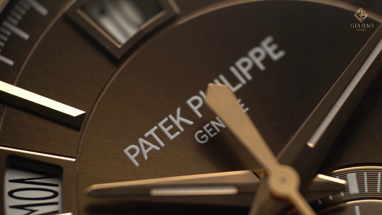 Review đồng hồ Patek Philippe 5905R - YouTube