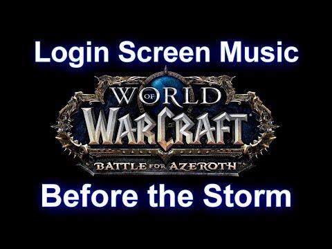 Battle for Azeroth Login Screen Music -...