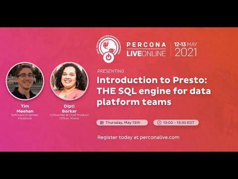 Introduction to Presto: The SQL Engine for Data Platform Teams