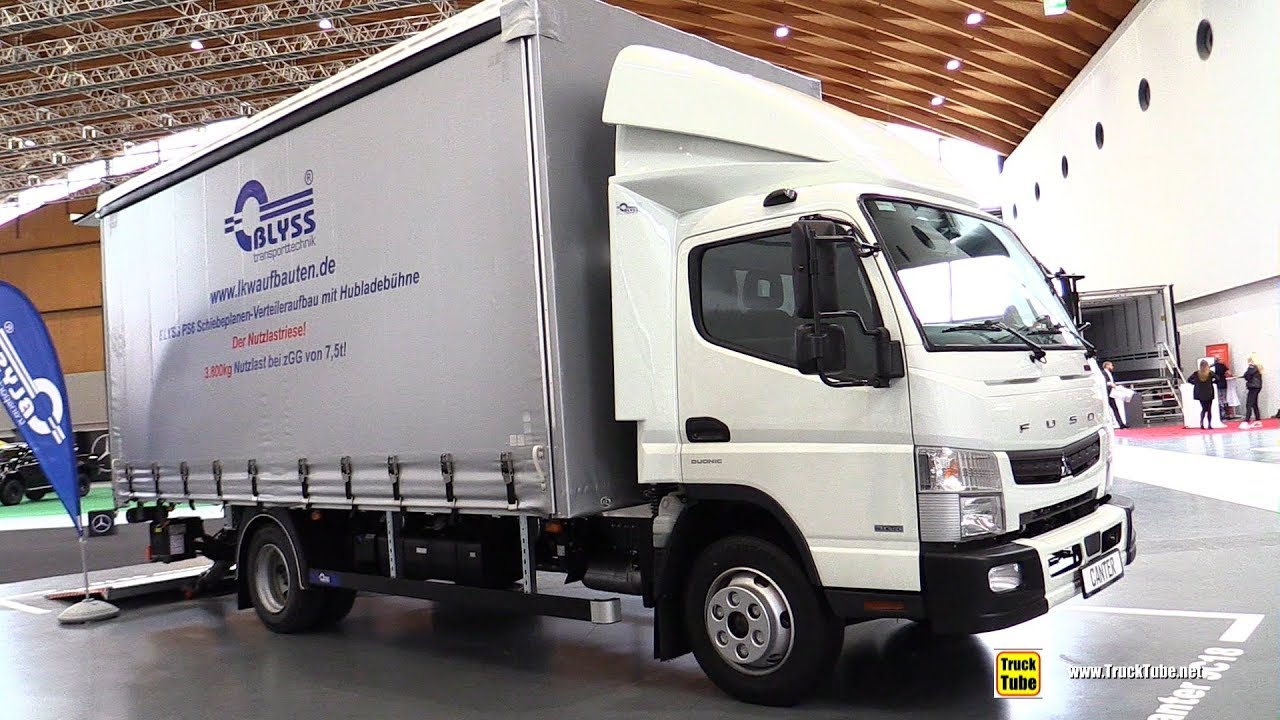 2020 Fuso Canter 9c18 Delivery Truck Exterior Interior Walkaround Youtube