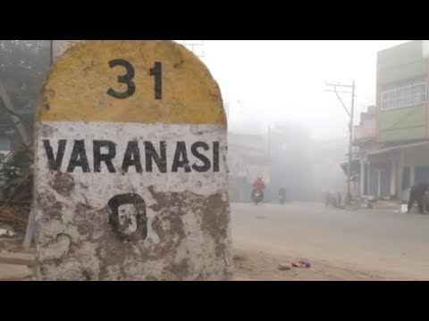 Fog envelops Varanasi, harsh weather condition prevails
