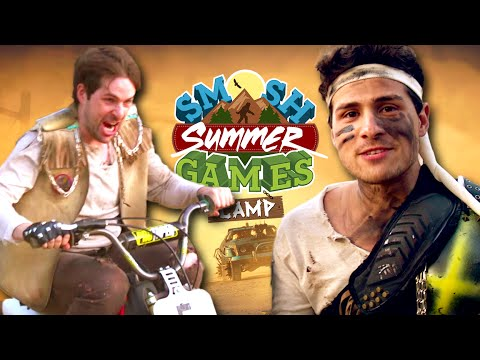 WE'RE IN MAD MAX (Smosh Summer Games) - YouTube