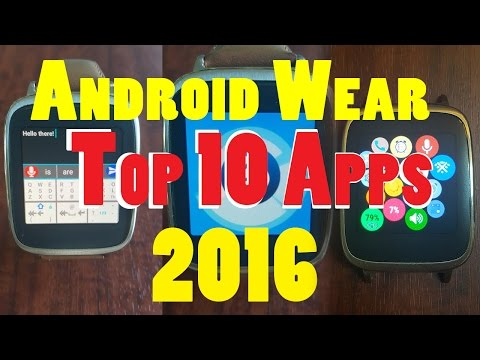 Top 10 Android Wear Productivity Apps 2016