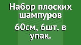 Набор плоских шампуров 60см, 6шт. в упак. (BoyScout) обзор 61370