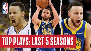 Stephen Curry's TOP PLAYS | Last 5 Seasons