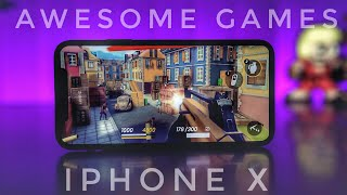 20 Games I Play On My Iphone X